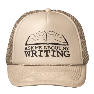 Pregúnteme acerca de mi escritura (el gorra)