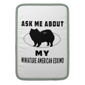 Pregúnteme acerca de mi esquimal americano miniatu fundas macbook air
