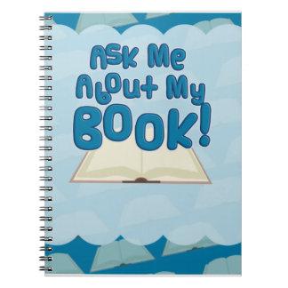 ¡Pregúnteme acerca de mi libro por favor! Libros De Apuntes Con Espiral