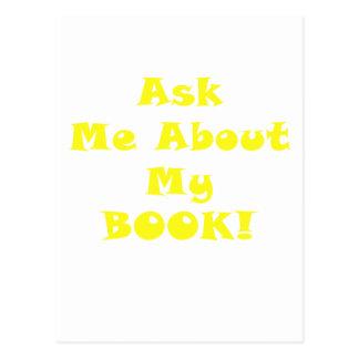 Pregúnteme acerca de mi libro postal