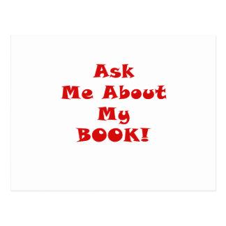 Pregúnteme acerca de mi libro tarjeta postal
