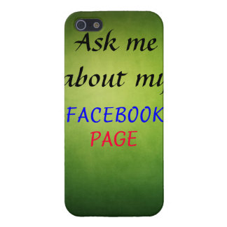 Pregúnteme acerca de mi página de Facebook iPhone 5 Carcasas