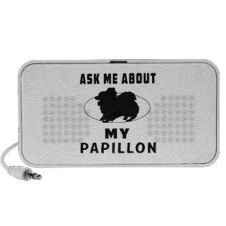 Pregúnteme acerca de mi Papillon iPod Altavoces