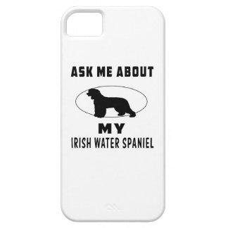 Pregúnteme acerca de mi perro de aguas de agua irl iPhone 5 protectores