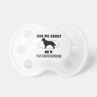 Pregúnteme acerca de mi perro perdiguero Plano-Rev Chupetes Para Bebés
