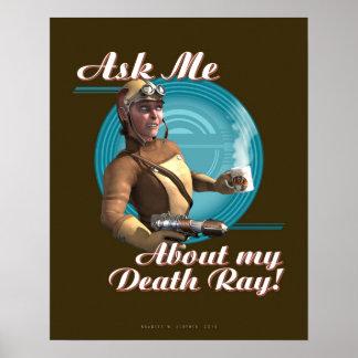 ¡Pregúnteme acerca de mi rayo de muerte! poster