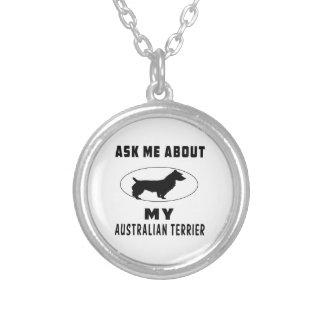 Pregúnteme acerca de mi Terrier australiano Joyerias Personalizadas
