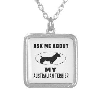 Pregúnteme acerca de mi Terrier australiano Joyería