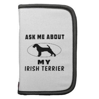 Pregúnteme acerca de mi Terrier irlandés Planificador