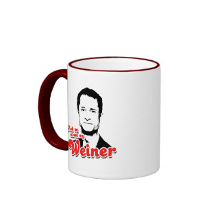 Pregúnteme acerca de mi Weiner Tazas De Café
