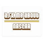 Pregúnteme acerca de NASCAR Tarjeta Postal
