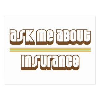 Pregúnteme acerca de seguro tarjetas postales