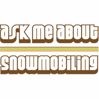 Pregúnteme acerca de Snowmobiling Escultura Fotografica