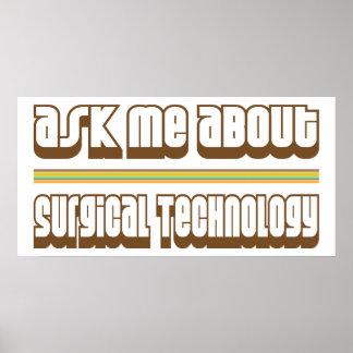 Pregúnteme acerca de tecnología quirúrgica poster