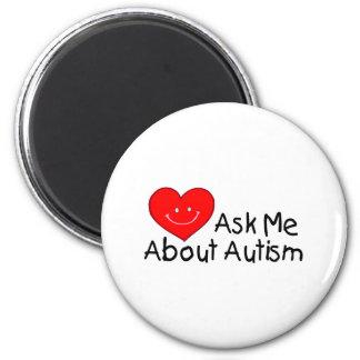 Pregúnteme acerca del autismo (el corazón) iman