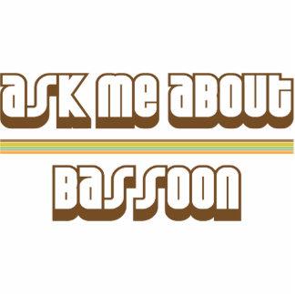 Pregúnteme acerca del Bassoon Adorno Fotoescultura