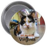 Pregúnteme acerca del botón de Virginia Pins