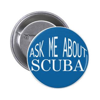 Pregúnteme acerca del botón del EQUIPO DE Pin Redondo De 2 Pulgadas