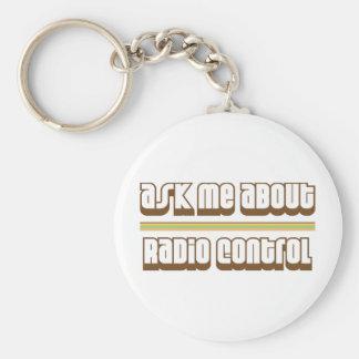 Pregúnteme acerca del control de radio llavero redondo tipo pin