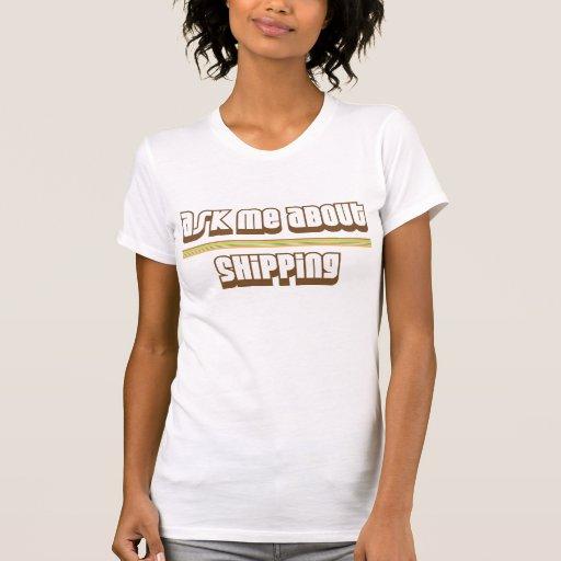 Pregúnteme acerca del envío camisetas