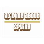 Pregúnteme acerca del espionaje postal