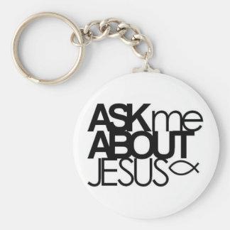 Pregúnteme acerca del llavero de Jesús