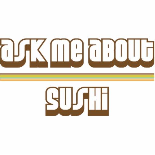 Pregúnteme acerca del sushi esculturas fotográficas