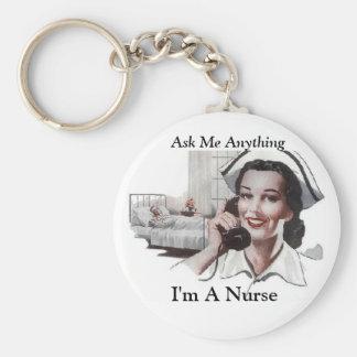 Pregúnteme cualquier cosa - soy enfermera llavero