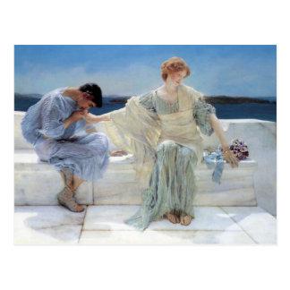 Pregúnteme no más Alma Tadema ahorre la fecha Postal
