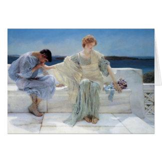 Pregúnteme no más, Alma Tadema, gracias Tarjeta Pequeña