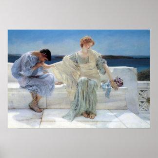 Pregúnteme no más por Alma Tadema, romanticismo Póster