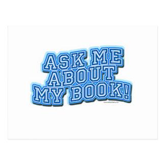 Pregúnteme todo acerca de mi libro tarjetas postales