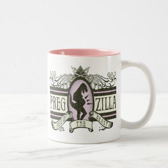 PregZilla Two-Tone Coffee Mug