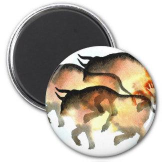 Prehistoric 2 Inch Round Magnet
