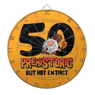 Prehistoric 50th Birthday Dart Boards