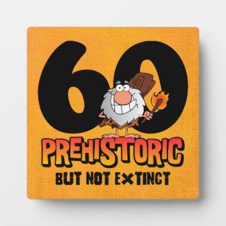 Prehistoric 60th Birthday Plaque