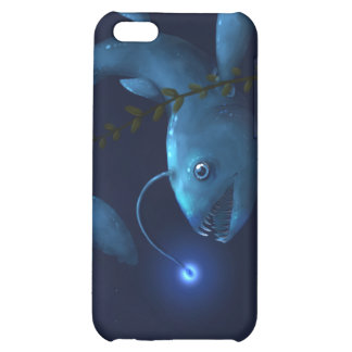 Prehistoric Anglerfish of Blue Case For iPhone 5C