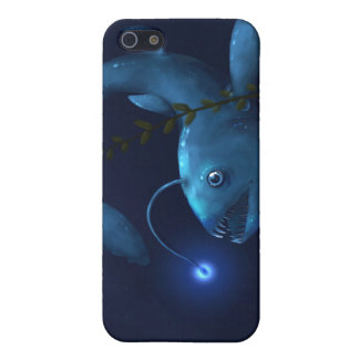Prehistoric Anglerfish of Blue iPhone 5 Cover