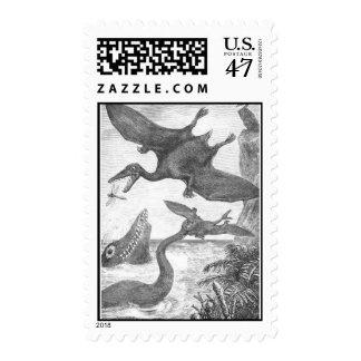 Prehistoric Animal Stamps
