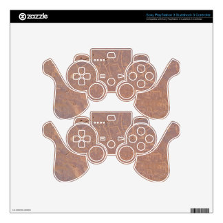 Prehistoric Carved Drawings In The Desert PS3 Controller Decals