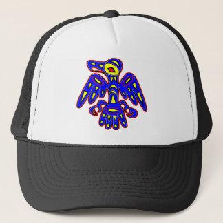 Prehistoric Cave Art Bird Trucker Hat