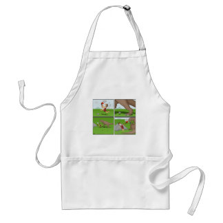 Prehistoric Cigarette Lighter Apron