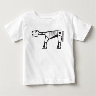 prehistoric creature skeleton baby T-Shirt