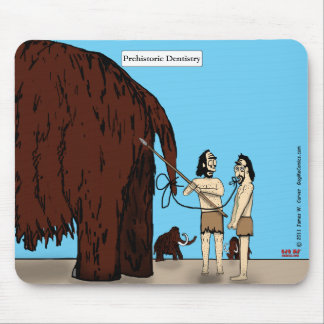 """Prehistoric Dentistry"" Mouse Pad"