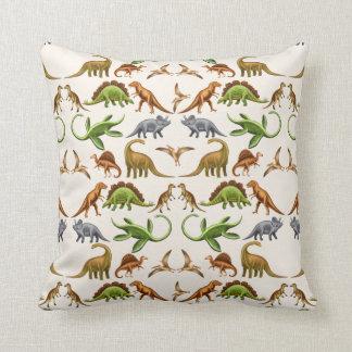 Prehistoric Dinosaur Paleo Pillow
