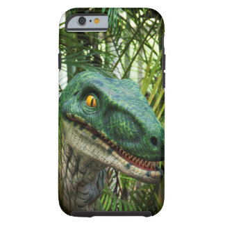 prehistoric dinosaur Velociraptor Tough iPhone 6 Case