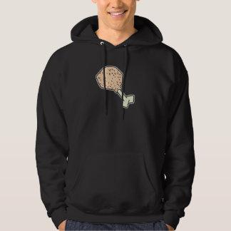 prehistoric drumstick hoodie