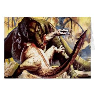 Prehistoric fight card