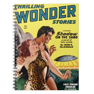 Prehistoric Flying Saucer Notebook