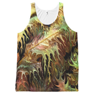 Prehistoric forest by rafi talby All-Over print tank top
